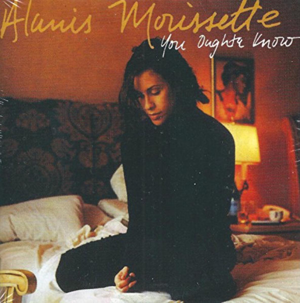 alanis morissette you oughta know cover art, best breakup songs