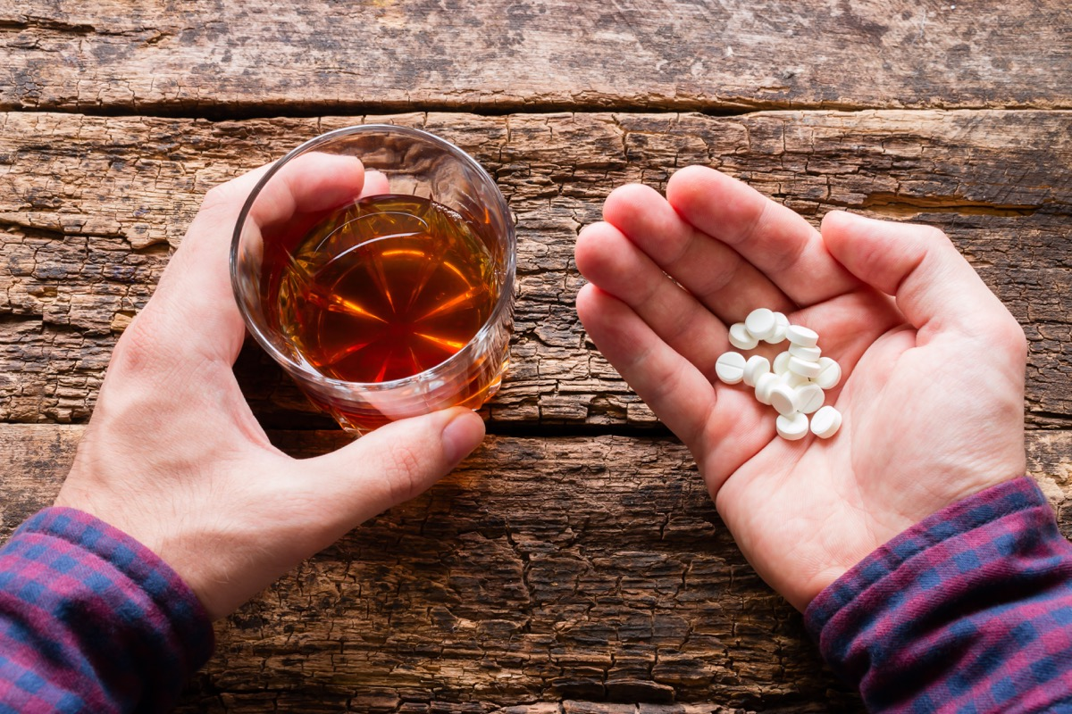 Alcohol and medications