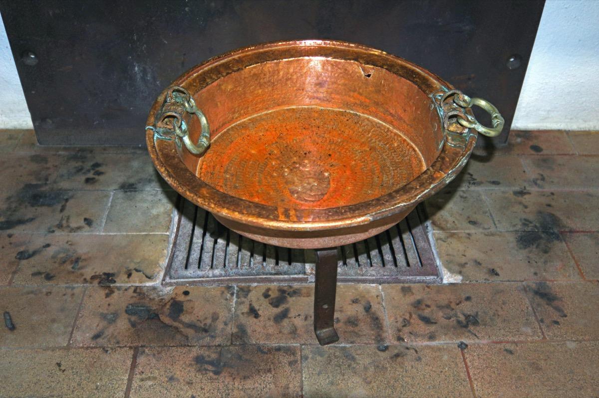 antique bell brazier weird old household items