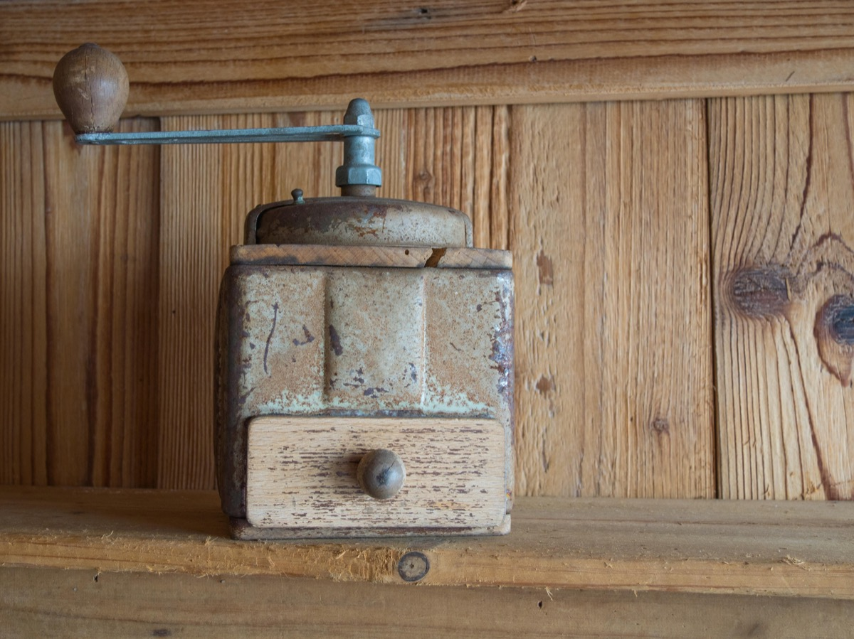 coffee grinder weird old household objects