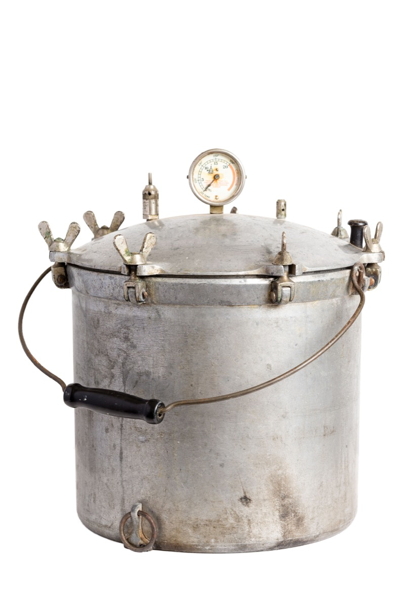 antique pressure cooker weird old household objects