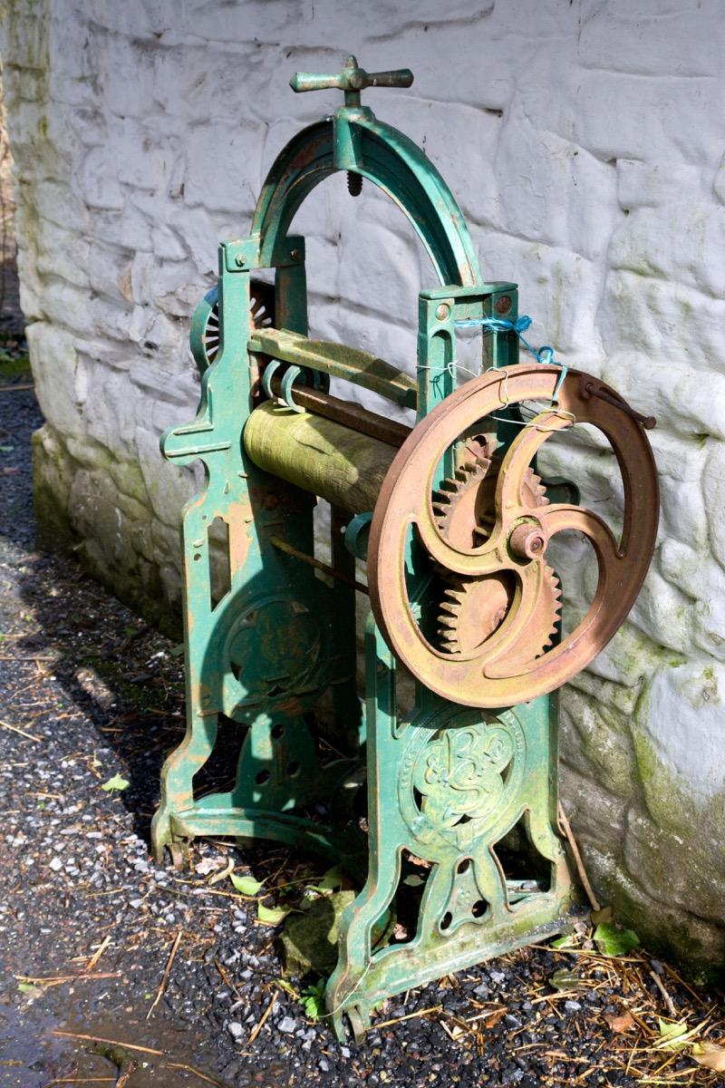 antique washing machine weird old household items