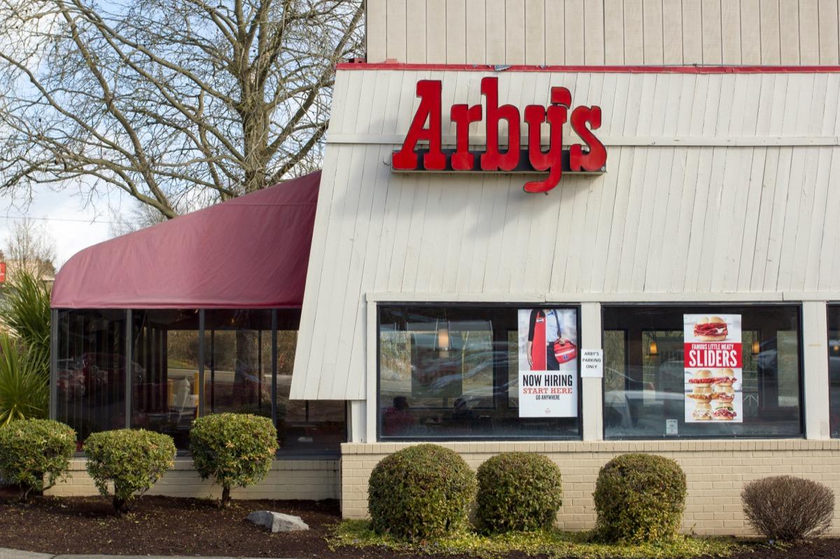 Arby's restaurant exterior