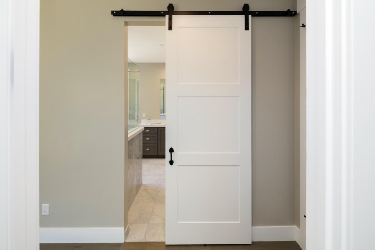 barn door home upgrades with big return