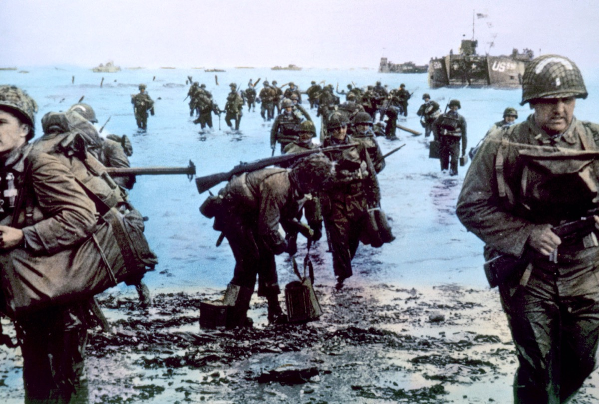 The Battle of Normandy during World War II {Historical Events That Happened Simultaneously}