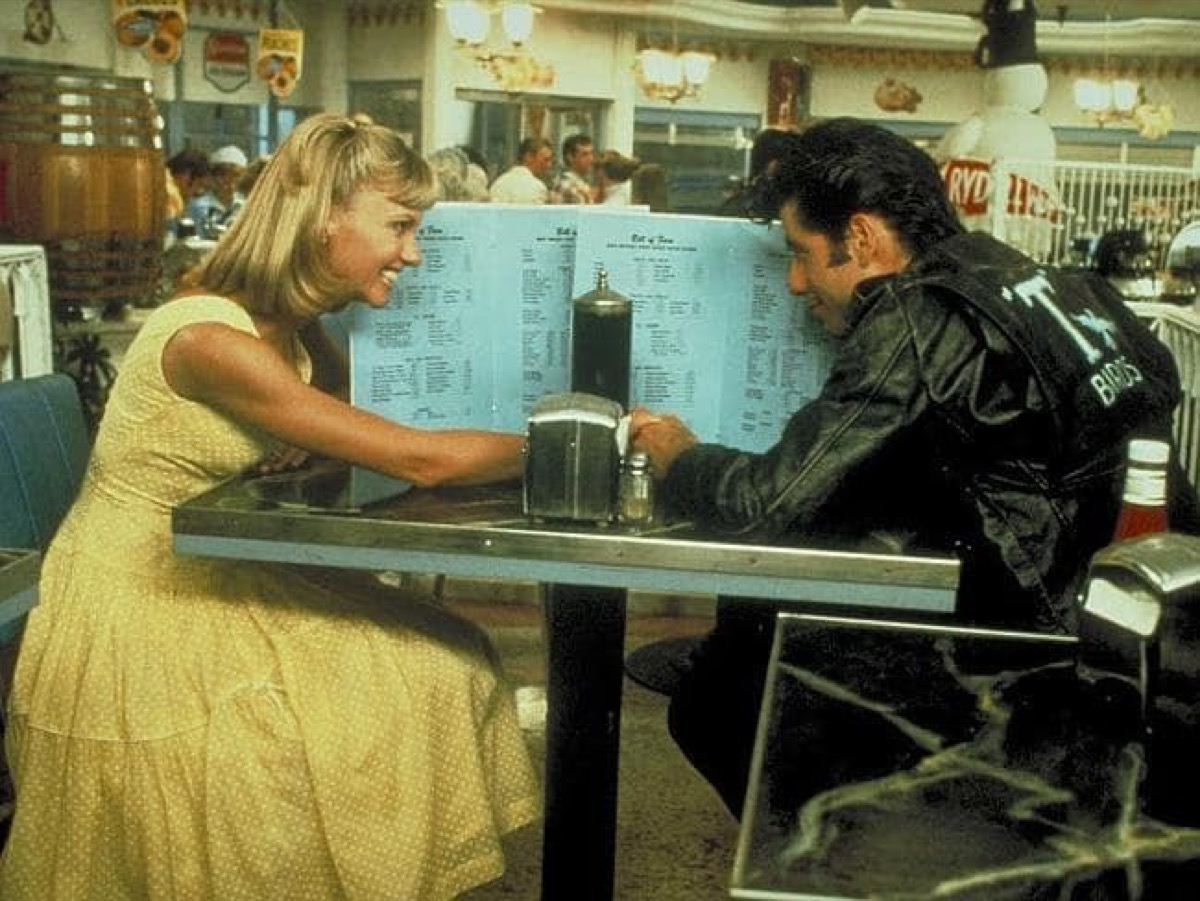 1950s-date-grease, best teen romance movies