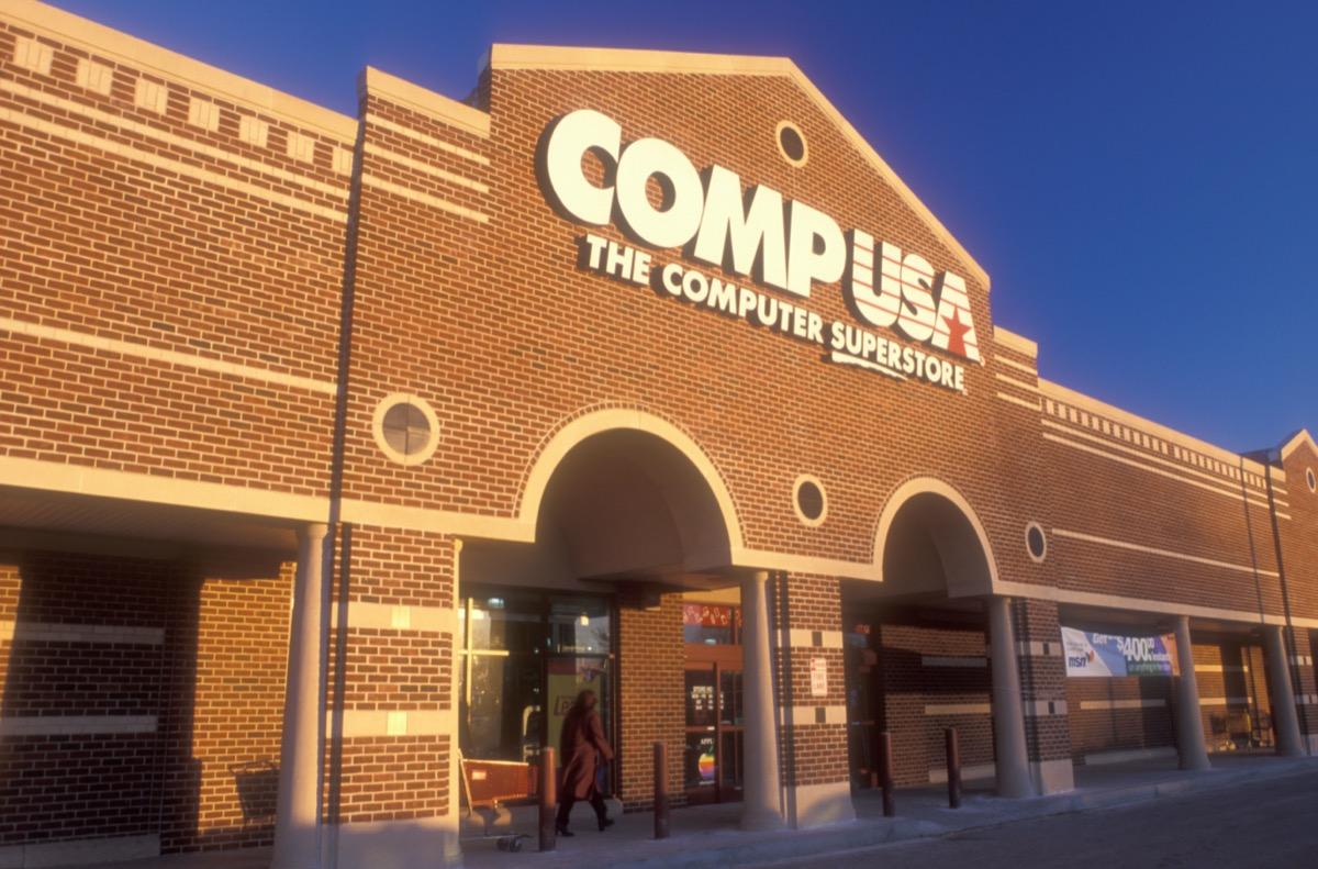 comp usa storefront