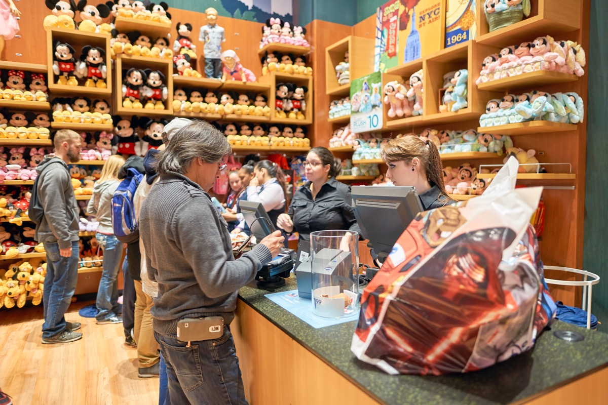 Disney gift shop secret disney perks