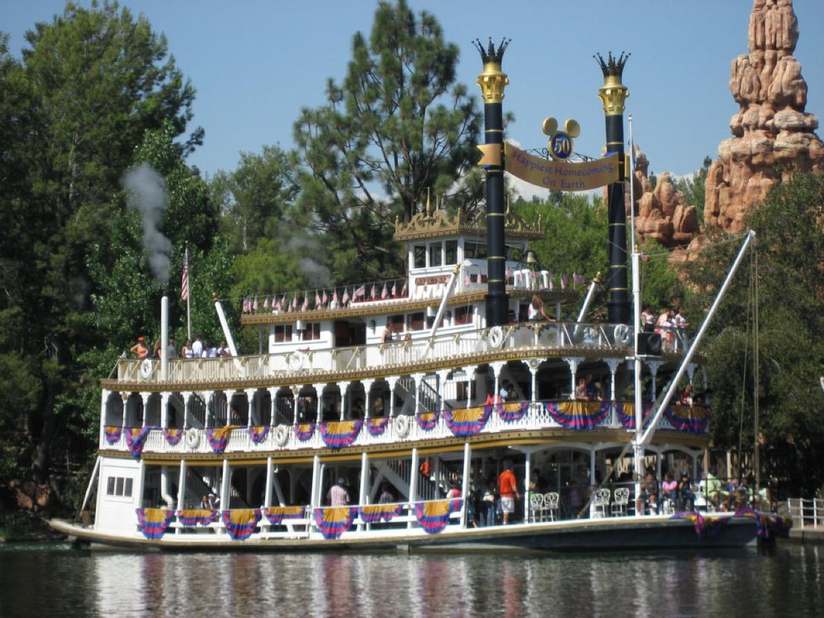 Disneyland Mark Twain Riverboat secret disney perks