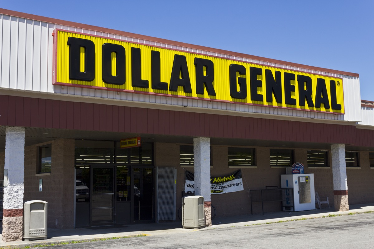 Dollar General Worst-Rated Stores