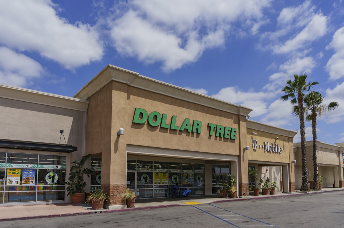 Dollar Tree Store Worst-Rated Stores