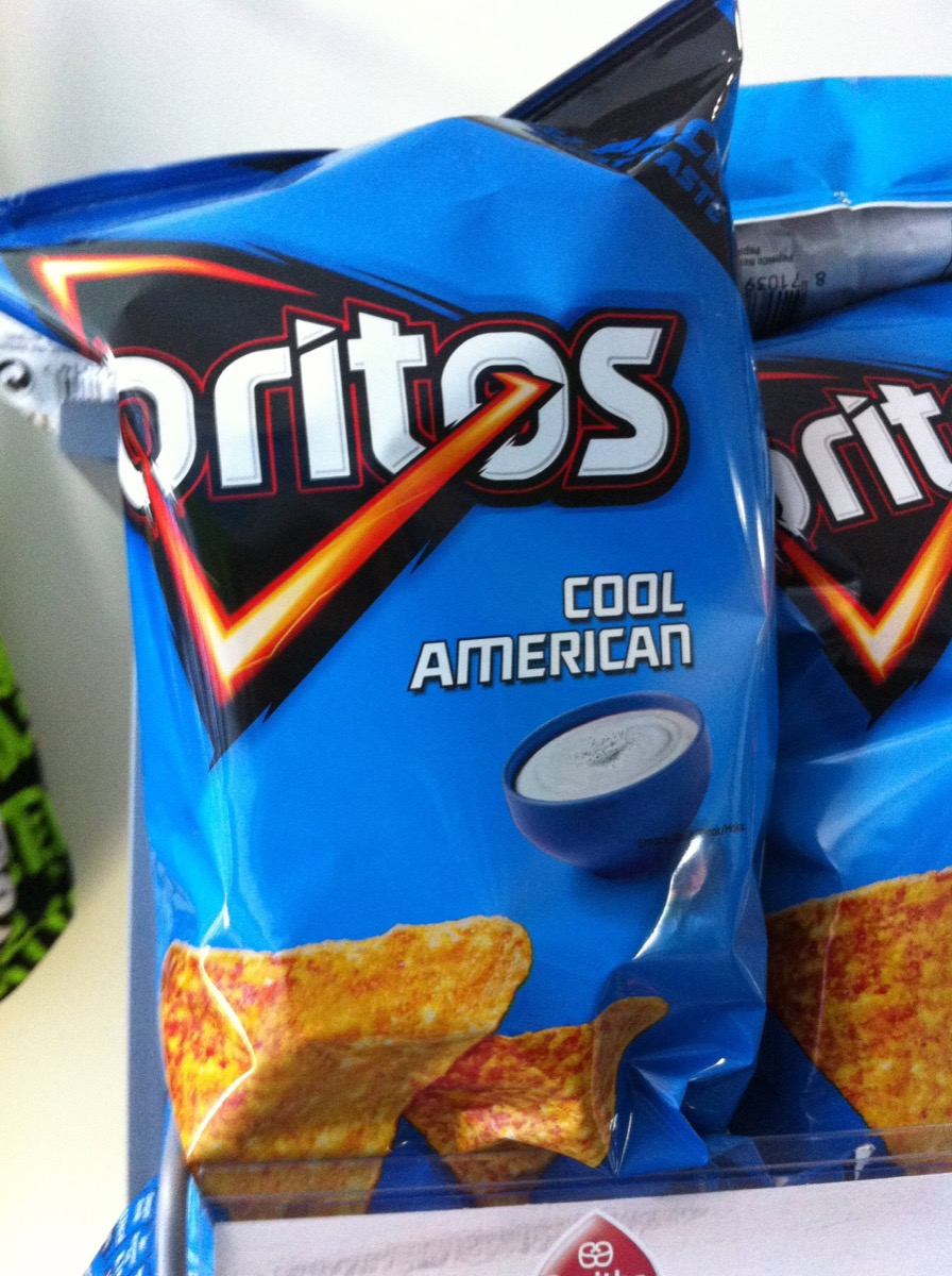 Doritos Cool American {Brands with Different Names Abroad}