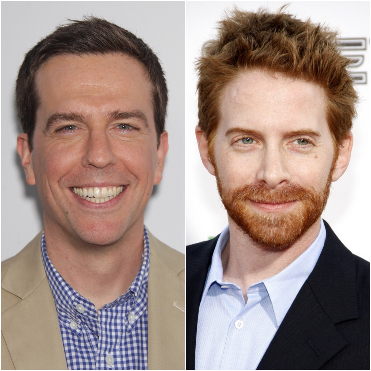 Ed Helms and Seth Green