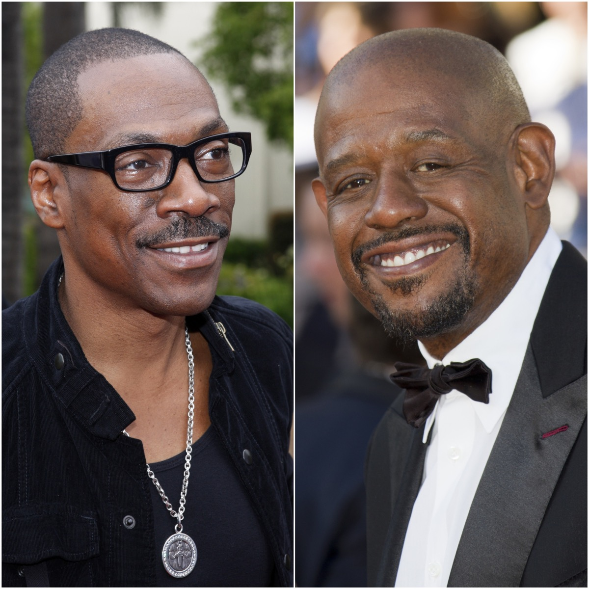 Eddie Murphy and Forest Whitaker