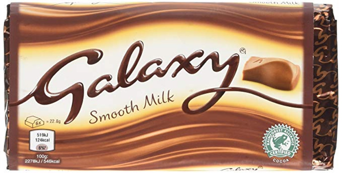 Galaxy Chocolate is Dove {Brands with Different Names Abroad}