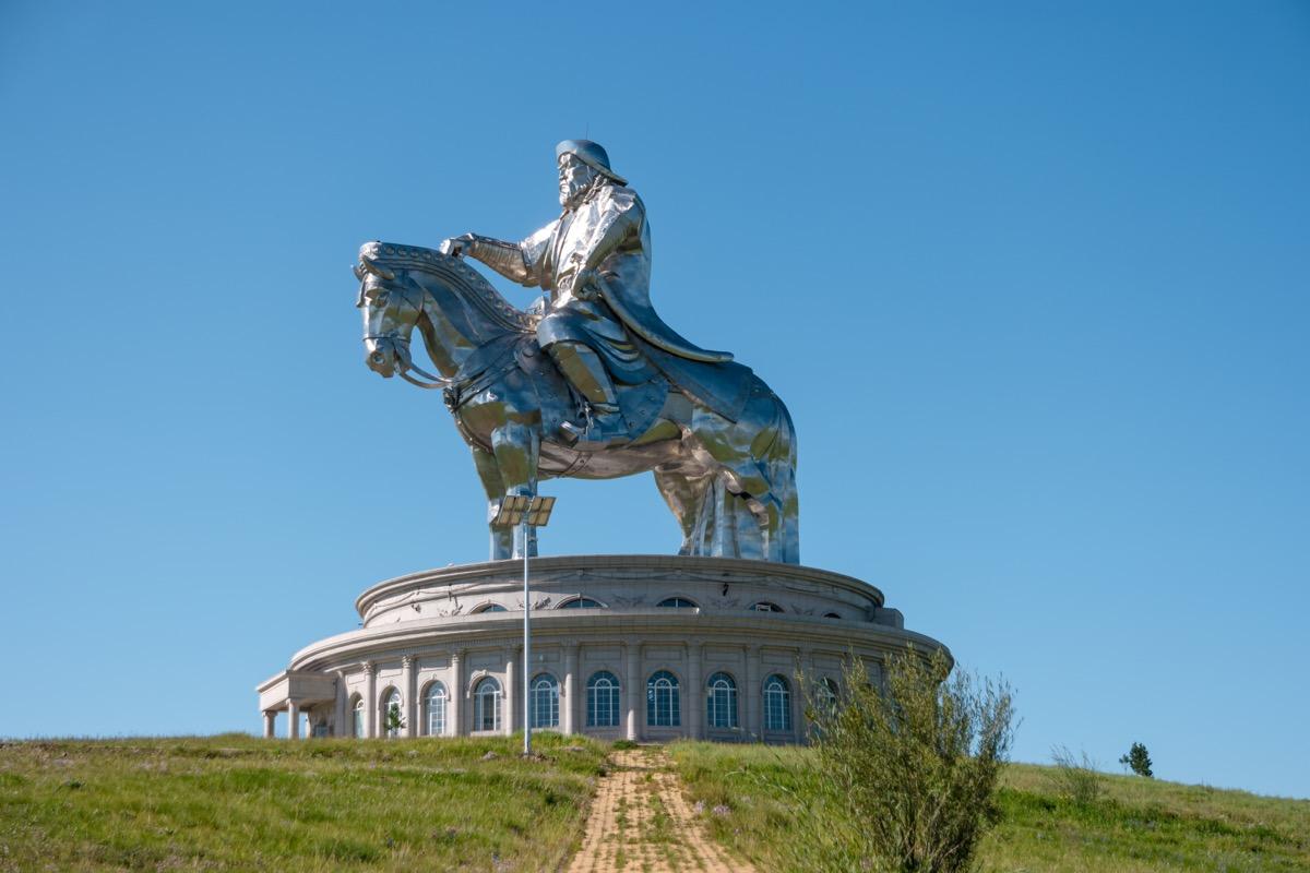 gengis khan statue, useless facts