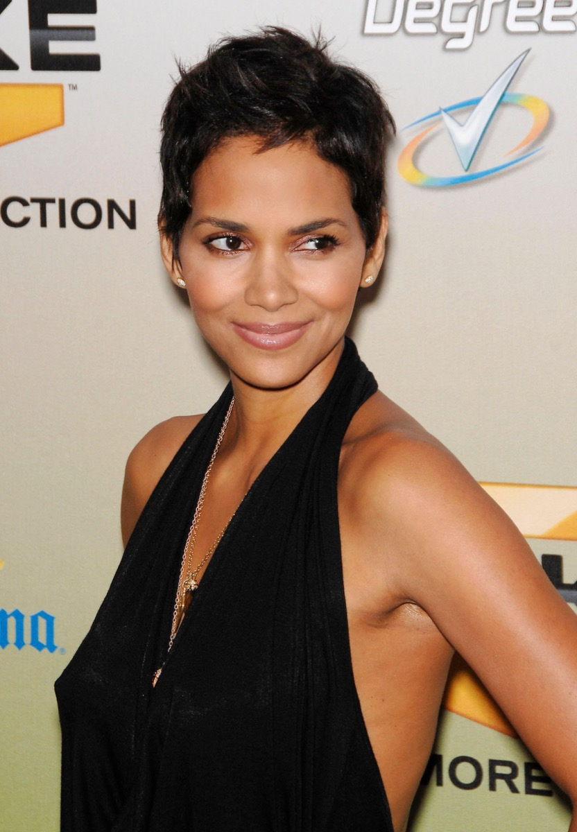Halle Berry pixie cut women's hairstyles