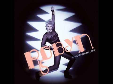 robyn dancing on my own single cover