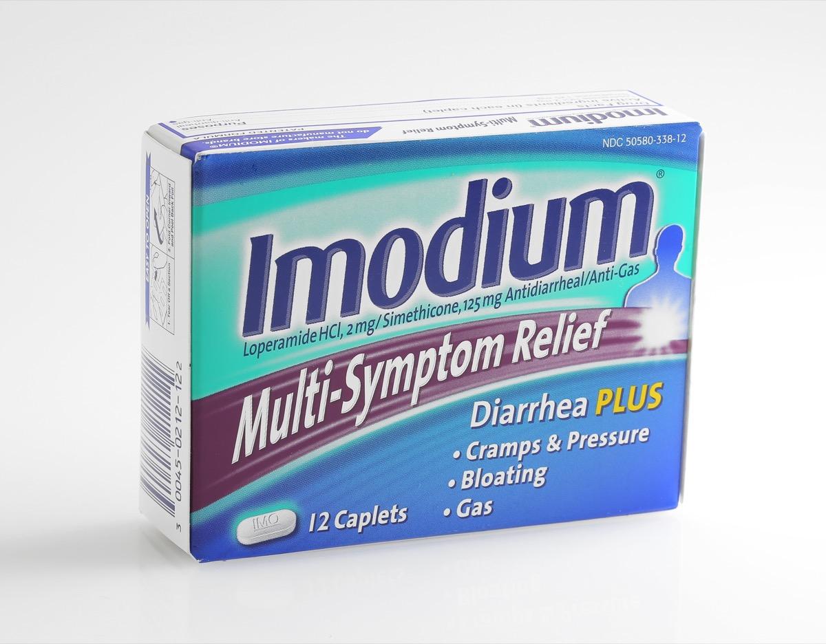 Imodium Anti-Diarrhea Medication Most Abused OTC Medications