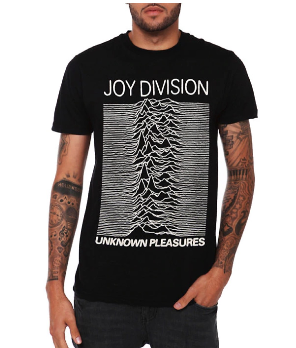 joy division unkown pleasure t-shirts from hot topic, best boyfriend gifts