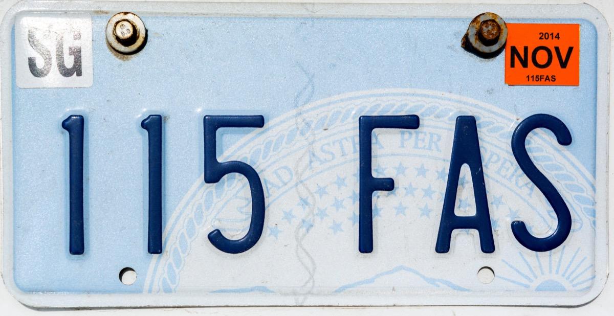 kansas license plate photoshopped