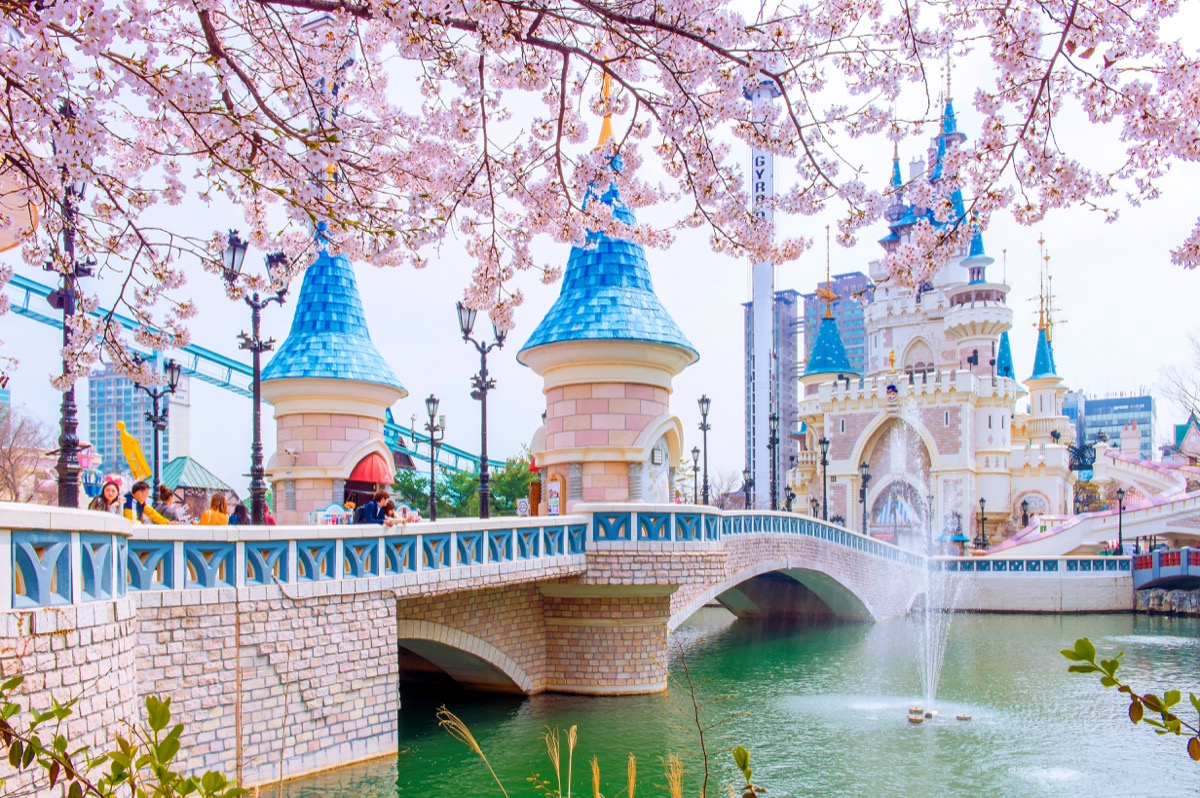 Lotte World South Korea how much it costs to visit theme parks