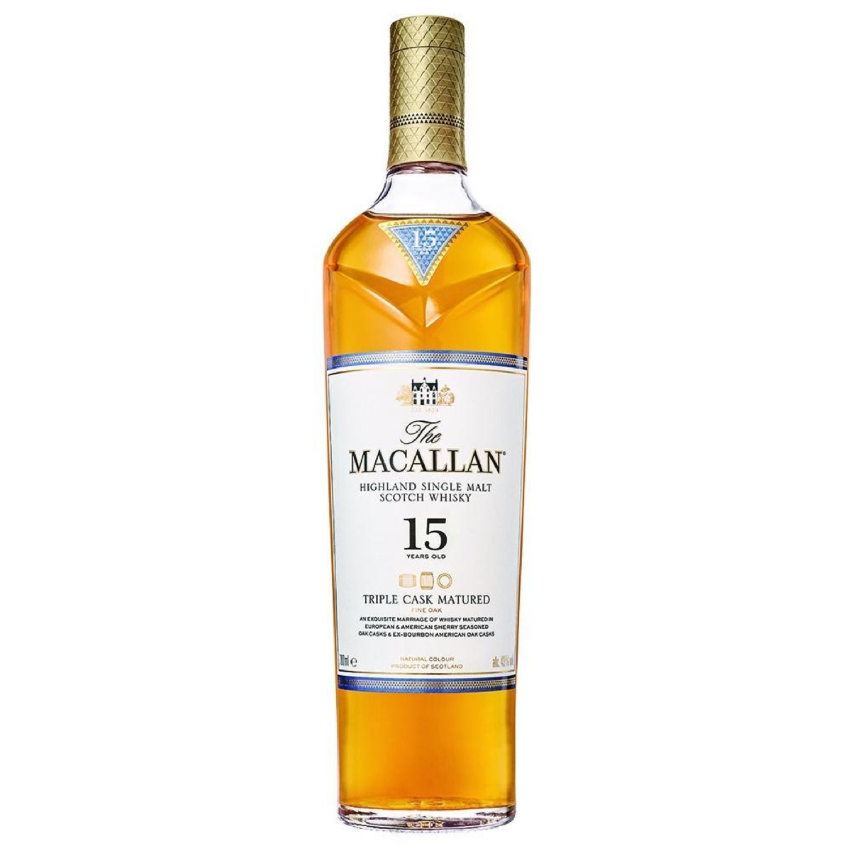 macallan 15-year-old single malt scotch whiskey mash and grape, best boyfriend gifts