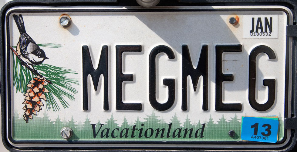 maine license plate photoshopped