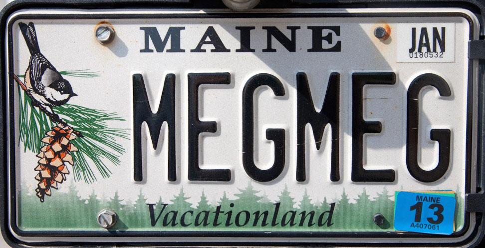 maine license plate