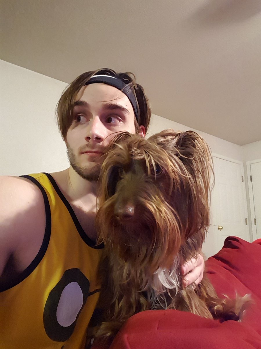 man looks just like his dog dogs who look like their owners