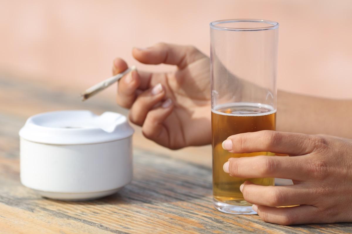 Marijuana and alcohol mixing alcohol