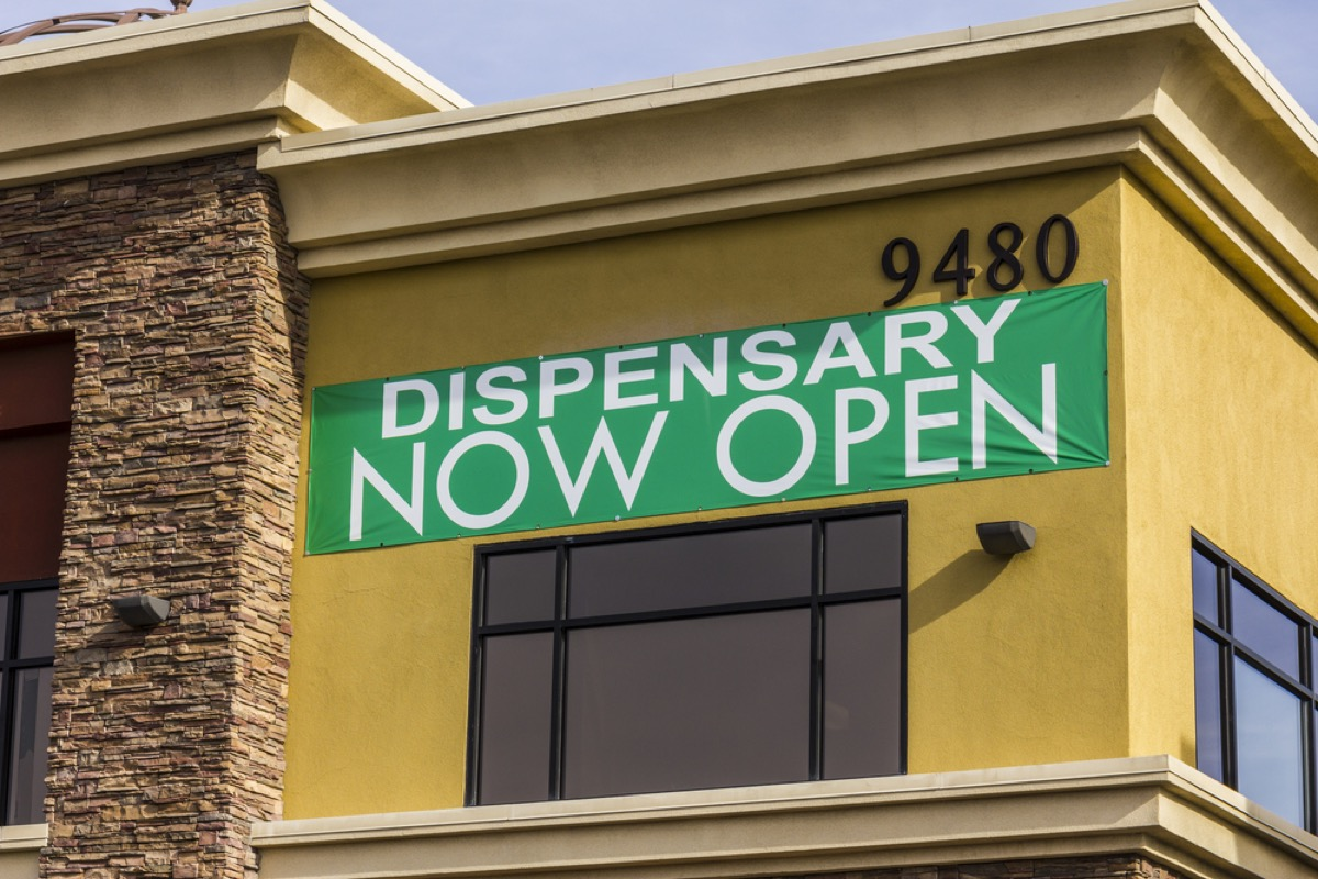 pot dispensary, parenting is harder