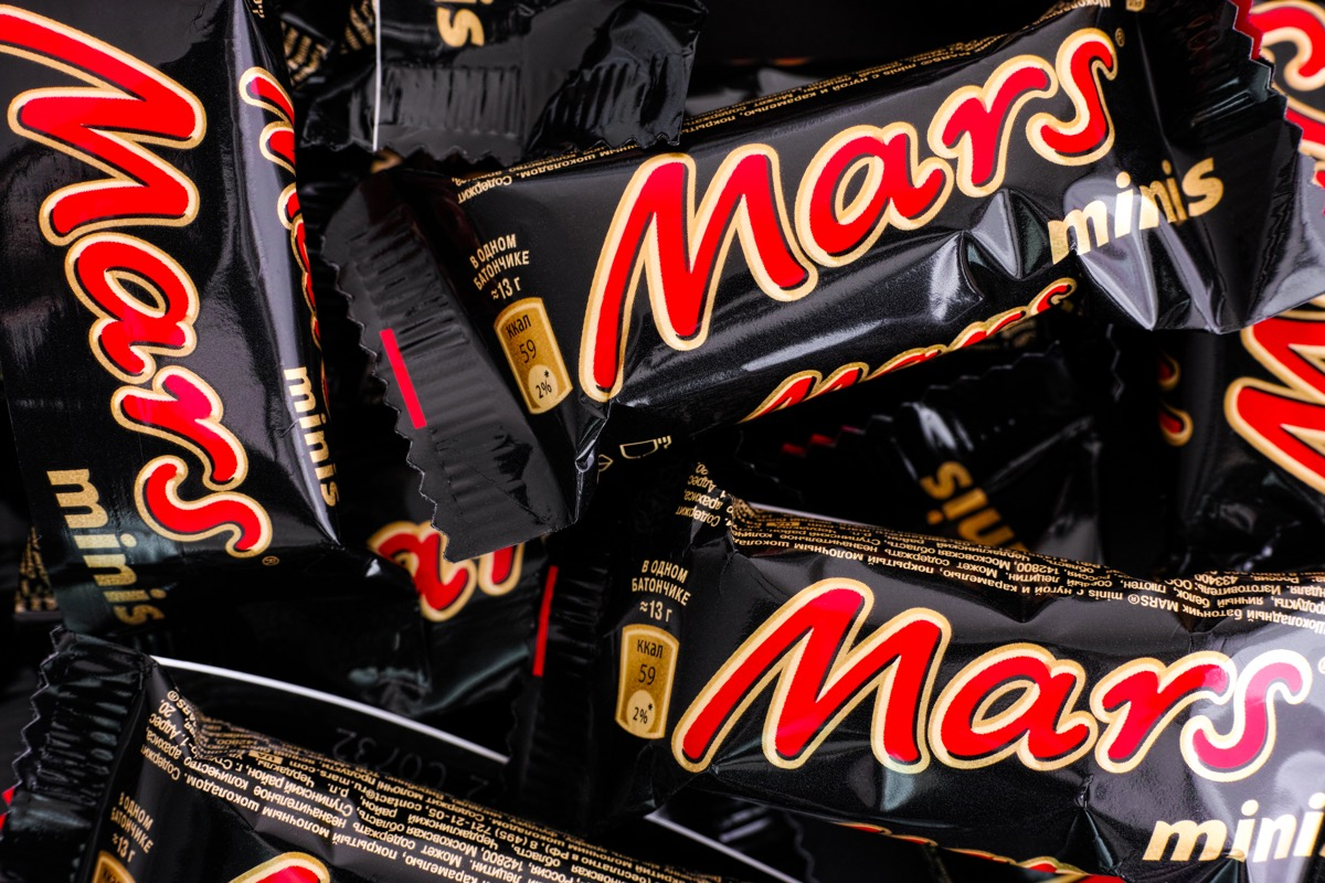 Mars Bars {Brands with Different Names Abroad}