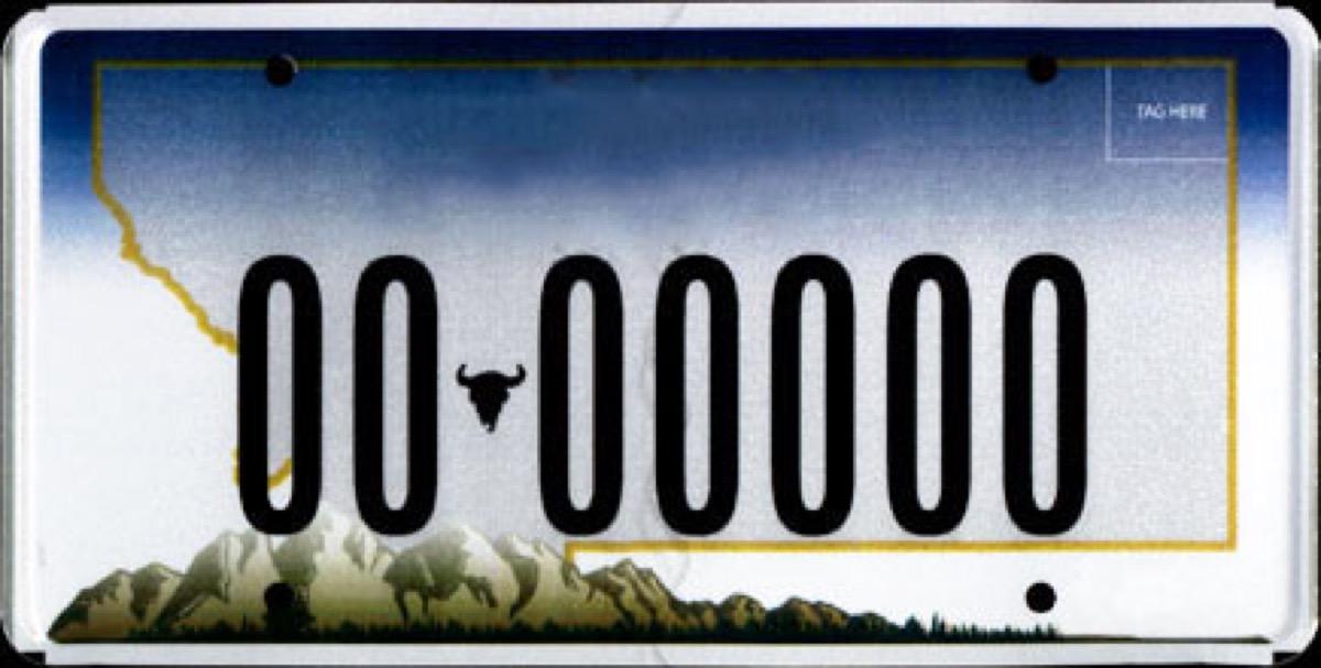 montana license plate photoshopped