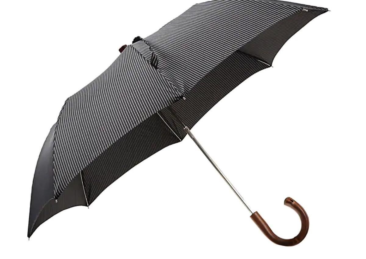 pinstripe umbrella barneys