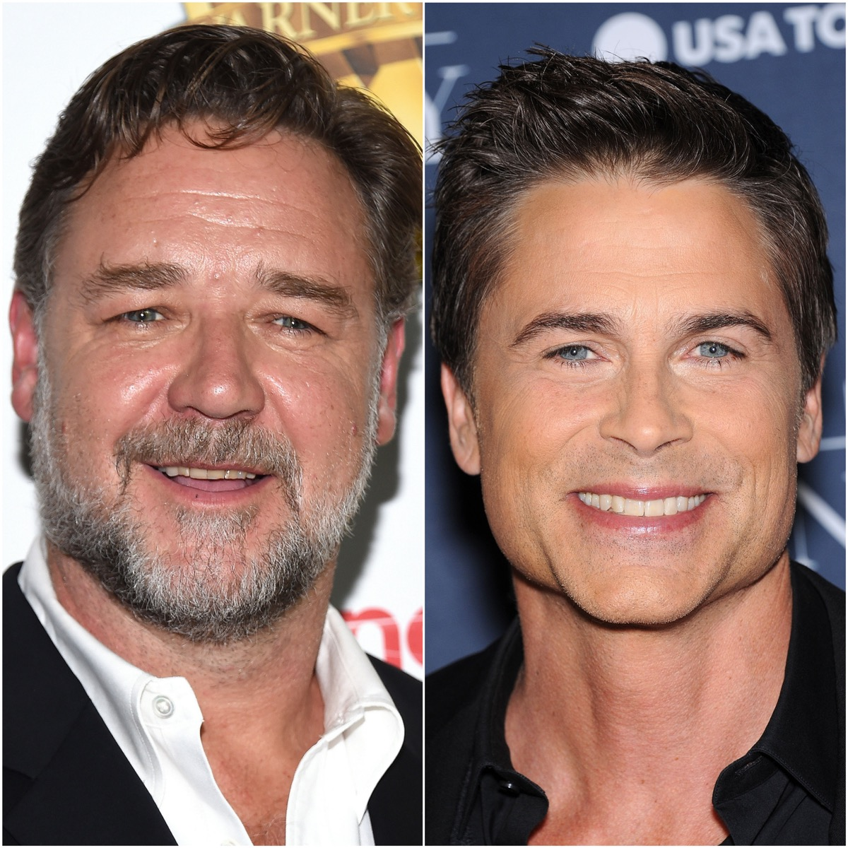 Russell Crowe and Rob Lowe
