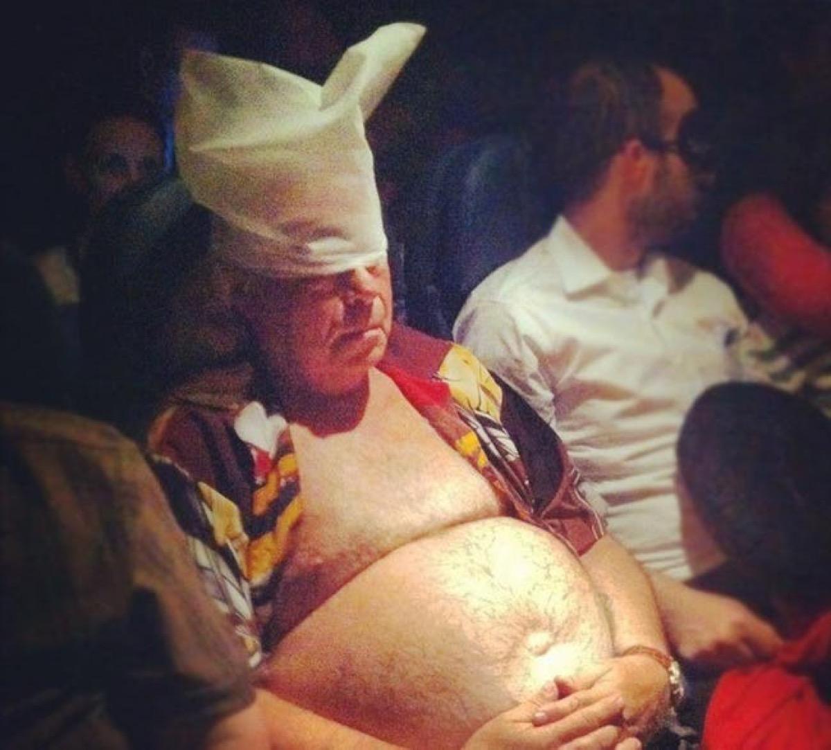 shirtless man on airplane photos of terrible airplane passengers