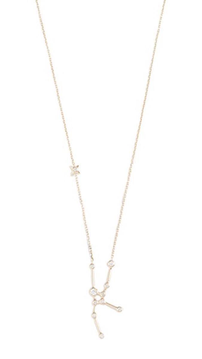 zodiac lulu frost necklace, gifts for girlfriend