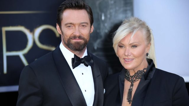 Hugh Jackman, Deborra-Lee Furness at the 85th Annual Academy Awards Arrivals, Dolby Theater, Hollywood, CA
