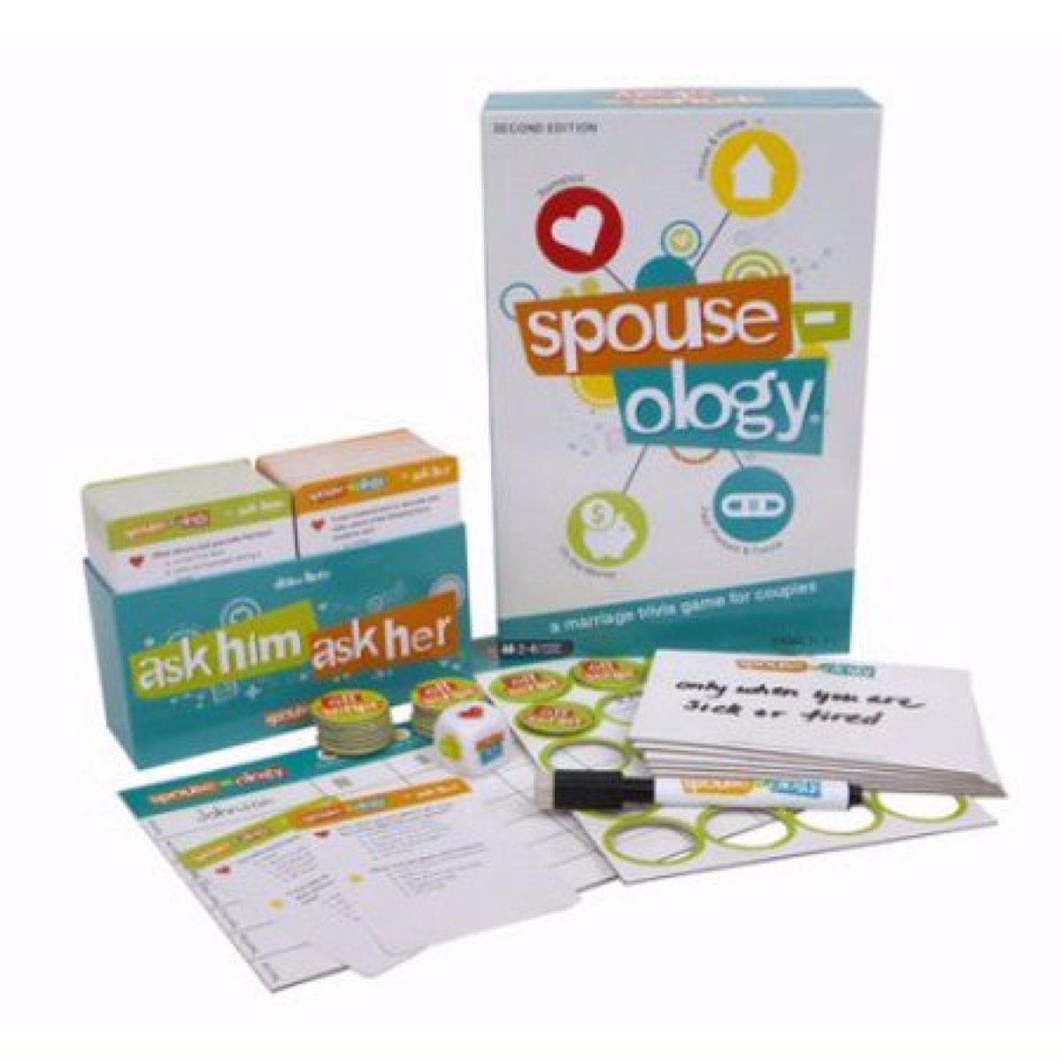 Spouse-ology board games for couples