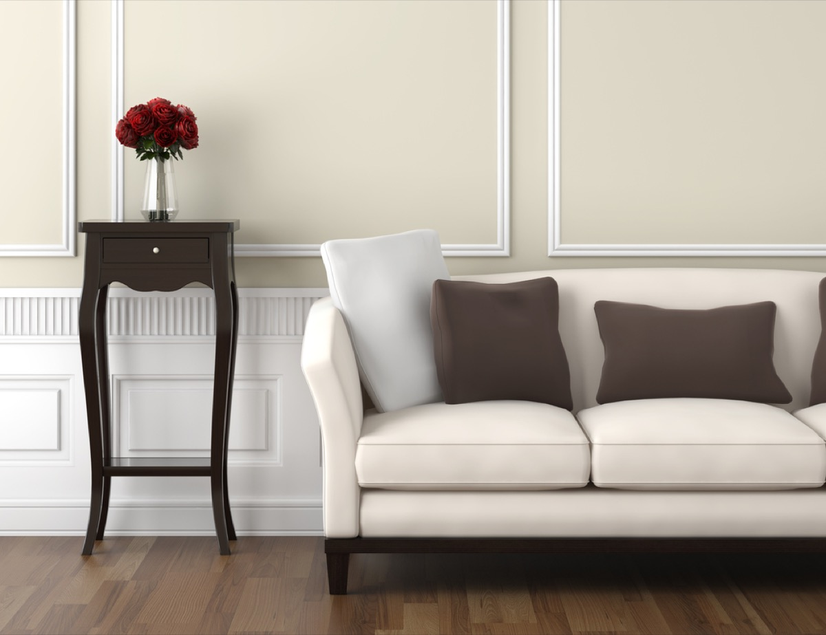 taupe living room home upgrades with big return