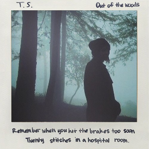 taylor swift out of the woods single cover