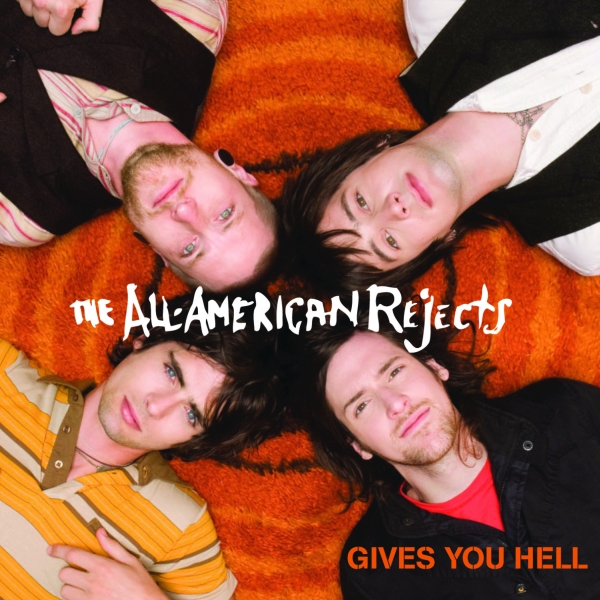 the all american rejects gives you hell single cover