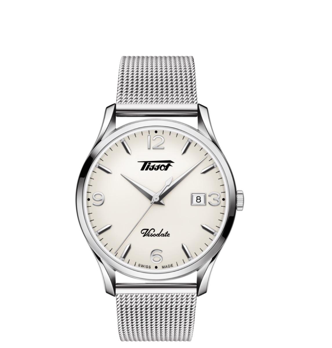 heritage tissot visodate watch, best boyfriend gifts