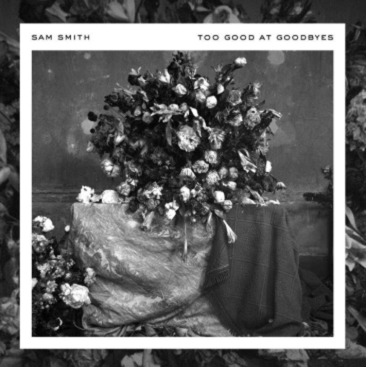 too good at goodbyes sam smith cover art