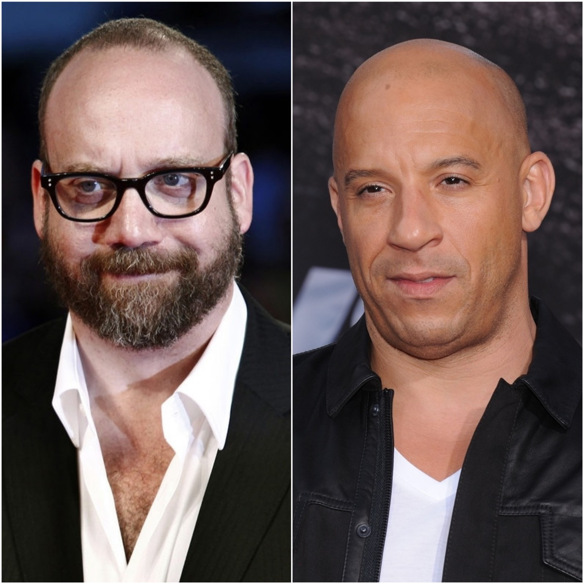 Paul Giamatti and Vin Diesel