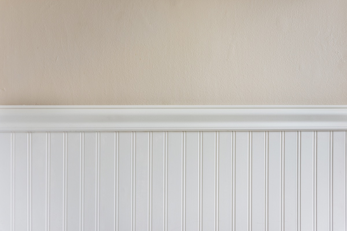 wainscoting, vintage home upgrades