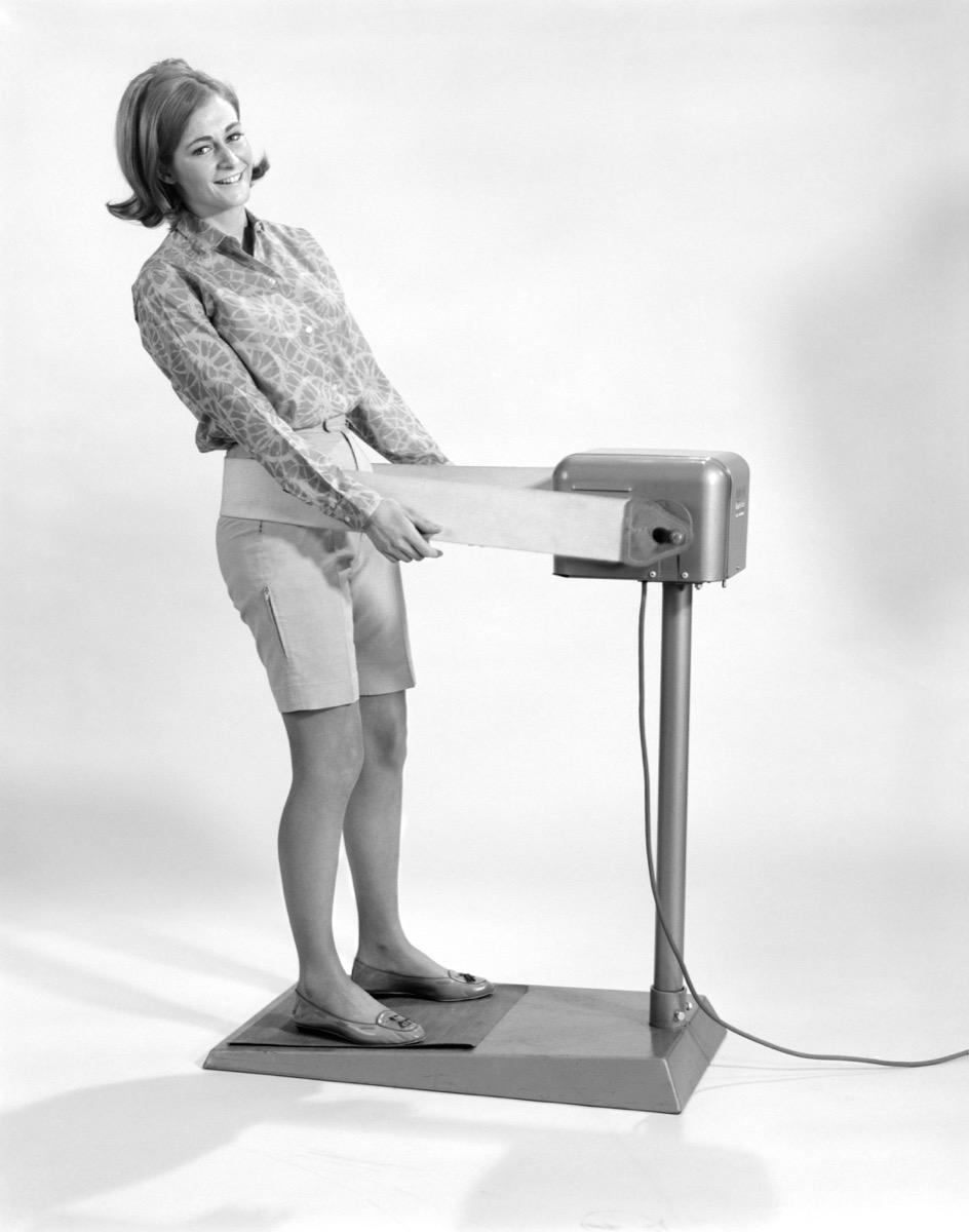 antique fat jiggler machine weird old household items