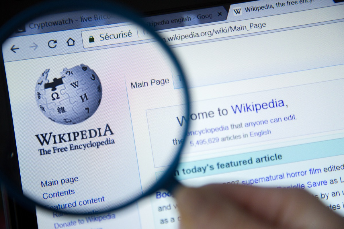 wikipedia browser, modern tech