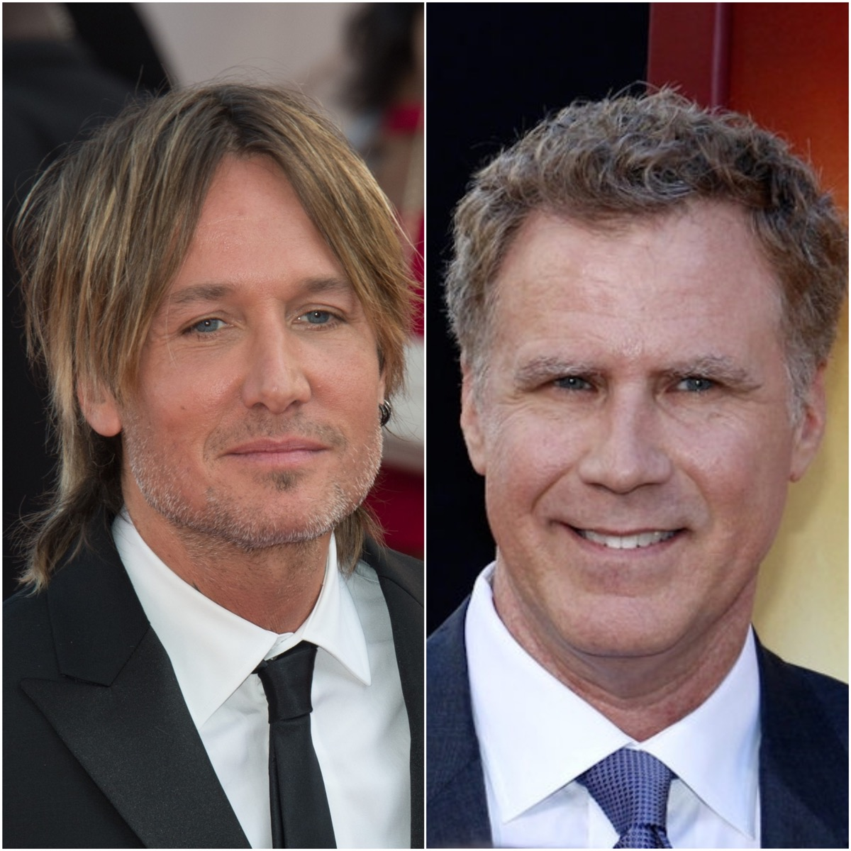 Keith Urban and Will Ferrell